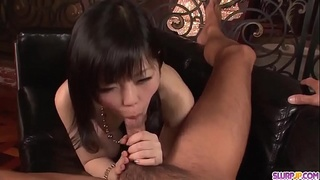 Hikaru Kirameki shows amazing nudity while sucking cock - More at Slurpjp.com