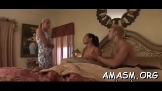 Needy ass milf with huge tits smothering porn with her dude
