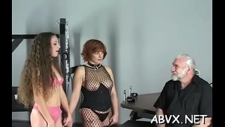 Raw scenes with yielding chicks enduring extreme servitude sex