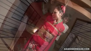 Nasty mature housewife, Azusa Uemura got fucked hard and creampied