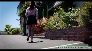 Cute Young Latina Step Daughter With A Great Ass Demi Lopez Fucked By Step Dad On Fathers Day