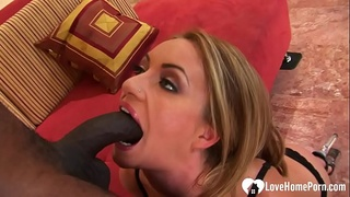 Incredible chick likes to do BBC anal