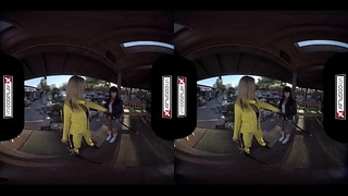 Kill Bill XXX Cosplay in Awe-Inspiring Sensational Fucking in Virtual Reality!