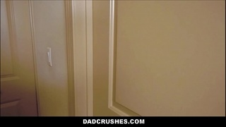 Horny Teen Step Daughter Violet Rain Seduces Her Step Dad In The Bathroom POV