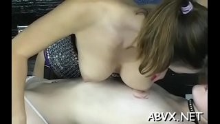 Naughty spanking and sex in amateur slavery video
