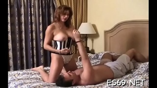 Sex can be spiced up with some female domination act