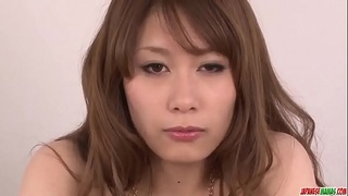 Rika Aiba sucks cock with passion then swallows - More at Japanesemamas com