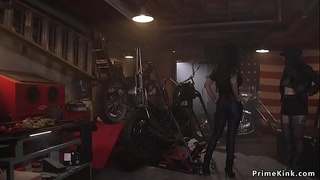 Gf brings bff to her bf for bdsm threesome
