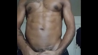 Talking shit and beating my dick