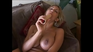 Cock hungry blonde whore Trina Michaels with big bristols asks her neighbours to poke her