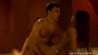 Acrobatic Sex With Indian Couple
