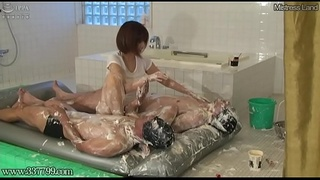 Japanese Femdom Asami Wet and Messy