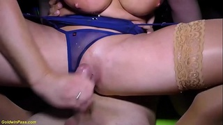 crazy stewardess sexy susi rough anal party fucked