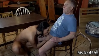 Old perverted man young girl Can you trust your girlcompanion leaving