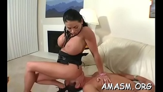 Pure lezzie action with women addicted to smothering