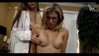 Cory Chase and the doctor fucks her son to get a sperm sample