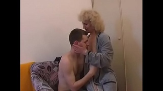 czech mature and boy