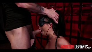 Hot Thick Asian MILF Big Tits London Keyes Rough Sex BDSM Bondage Orgasms Repeatedly
