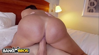 BANGBROS - Hot Latina Alexa Pierce Bounces Her Big Ass On Sean Lawless'_s Huge Cock