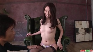Busty Mei Naomi pleaseses men with insane blowjob and sex - More at Japanesemamas com