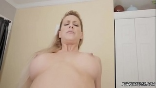 Amateur family taboo and mom milfboss anal Cherie Deville in