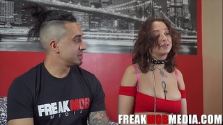 Marilyn Mansion and Bruno Dickemz Interview with FreakMob Media