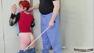 Extreme amateur Tiny Ava deep-throats on 47 jism explosions while
