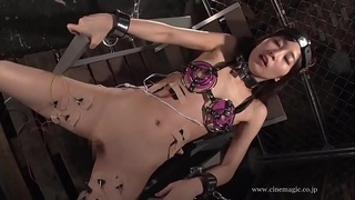 Electro torture Asian Girl Japanese - 12