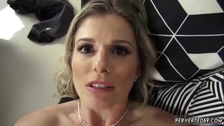Sexy mom seduces compeer'_ playfellow and cronys hot creampie Cory