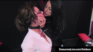 Caged Cougar Deauxma Abused By Dom Louise Jenson!