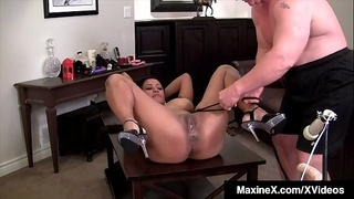 Asian Milf Maxine X Bound &amp_ Banged By Scott Rhodes!