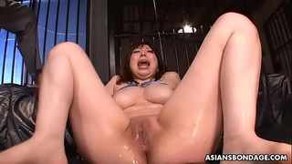 Curvy Asian girl got toyed and slapped around by perverts