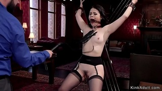 Master bangs two hot slaves