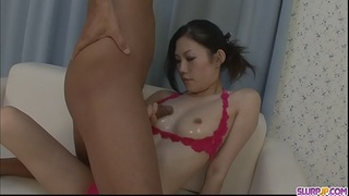 Cock service extraordinaire with all the best techniques: Yui Komine - More at Slurpjp.com