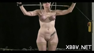 Sexy female wicked sadomasochism scenes with torture and sex