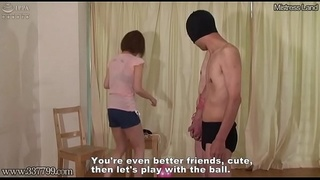 Japanese mistress Asami who makes fun of the two men