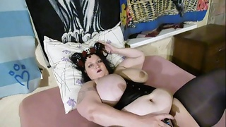 sexy bbw demon strip #1
