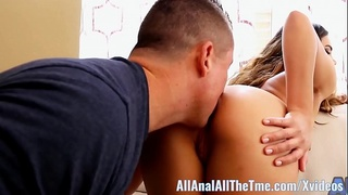 Asian babe Keilani Kita Gets Ass Spread and Worshiped!