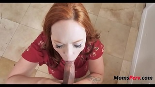 Mom doesnt let son go to college for his cock!
