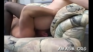 Huge milk sacks bbw act with smothering and humiliation