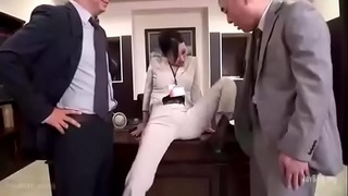cock,japanese,office,asian,femdom,dick,licking