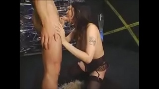 Asian Teen Slave Forced To Throatfuck Vomit On Big Cock