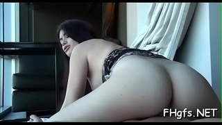 Adorable honey is in the mood to get screwed very hard