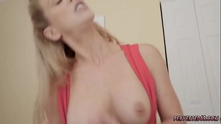 Threesome anal facial milf Cherie Deville in Impregnated By My