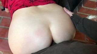 Stepmom gets stuck in the fireplace and fucked by stepson - Erin Electra