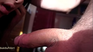 BRUTAL pov THROATFUCK with chinese wife