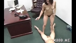 Rough ladies are torturing sissy boyz just for joy