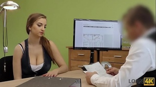 LOAN4K. Car is crashed and dirty sex is best solution in loan porn