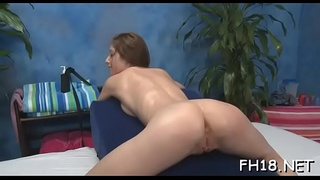 Cute and sexy fucked hard by her masseur