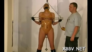 Lewd woman gets tits torment xxx in harsh bdsm video